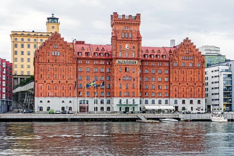 Elithotell Marina Tower fotografering för bildbyråer