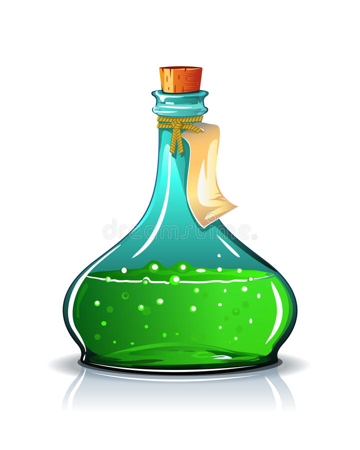 Elixir stock illustration