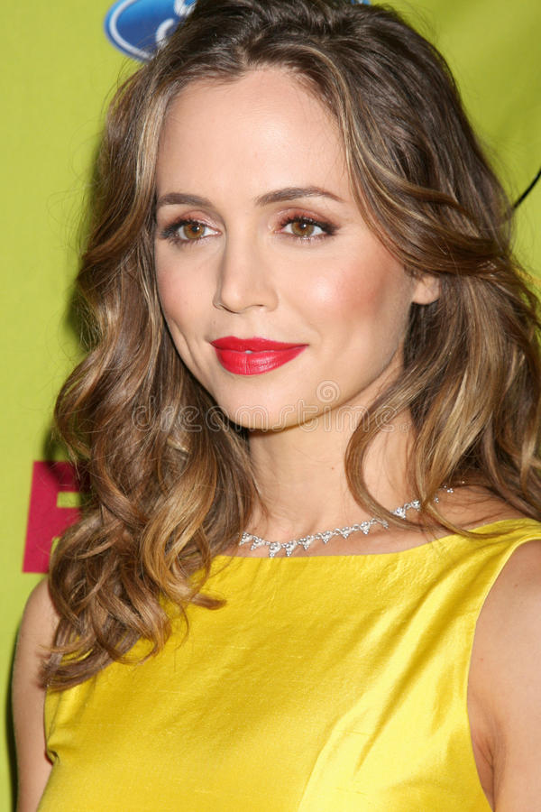 Eliza Dushku. Arriving at the FOX-Fall Eco-Casino Party at BOA Steakhouse in West Los Angeles, CA on September 14, 2009 royalty free stock images