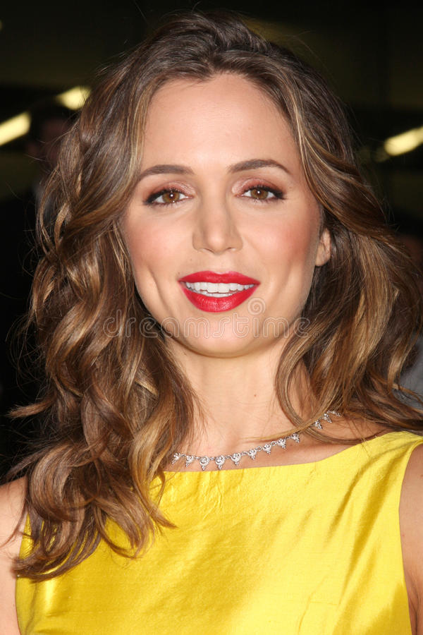 Eliza Dushku. Arriving at the FOX-Fall Eco-Casino Party at BOA Steakhouse in West Los Angeles, CA on September 14, 2009 stock photos