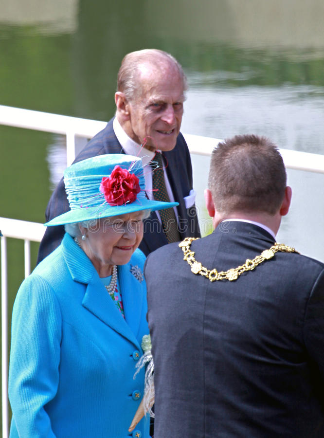 Elizabeth ΙΙ βασίλισσα στοκ φωτογραφίες