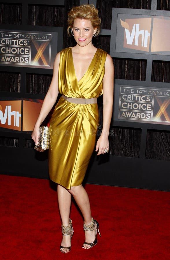 14th Annual Critics` Choice Awards. Elizabeth Banks at the 14th Annual Critics` Choice Awards held at the Santa Monica Civic Center in Santa Monica on January 8 royalty free stock image