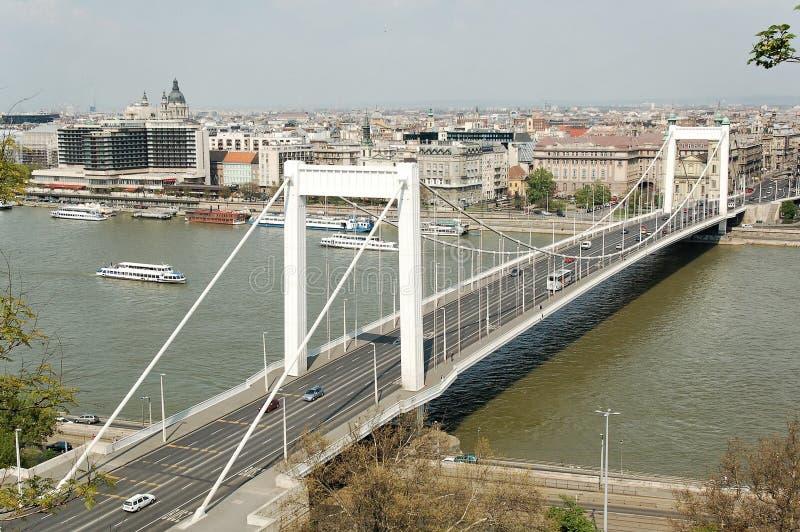 Elizabeth-Brücke stockbilder