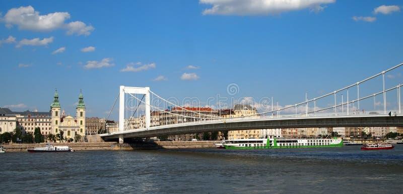Elizabeth Bridge stock image