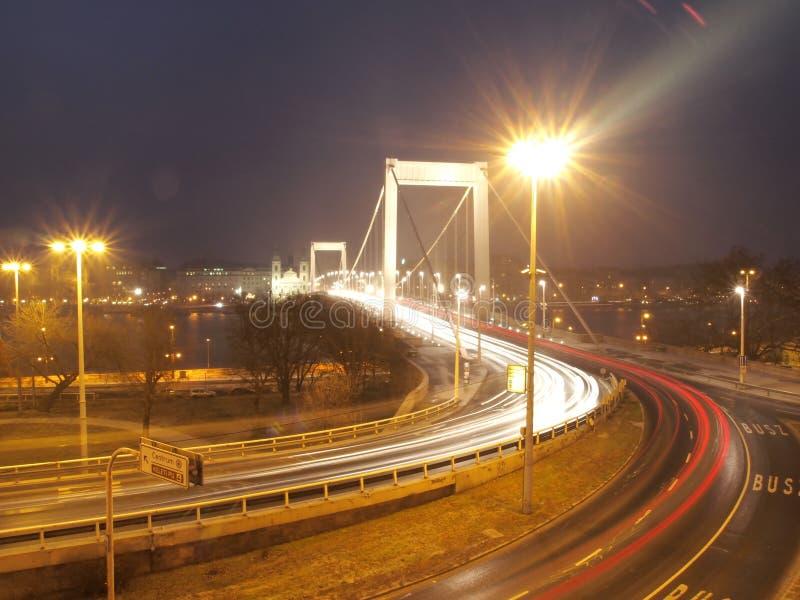 Elizabeth Bridge royalty-vrije stock afbeelding