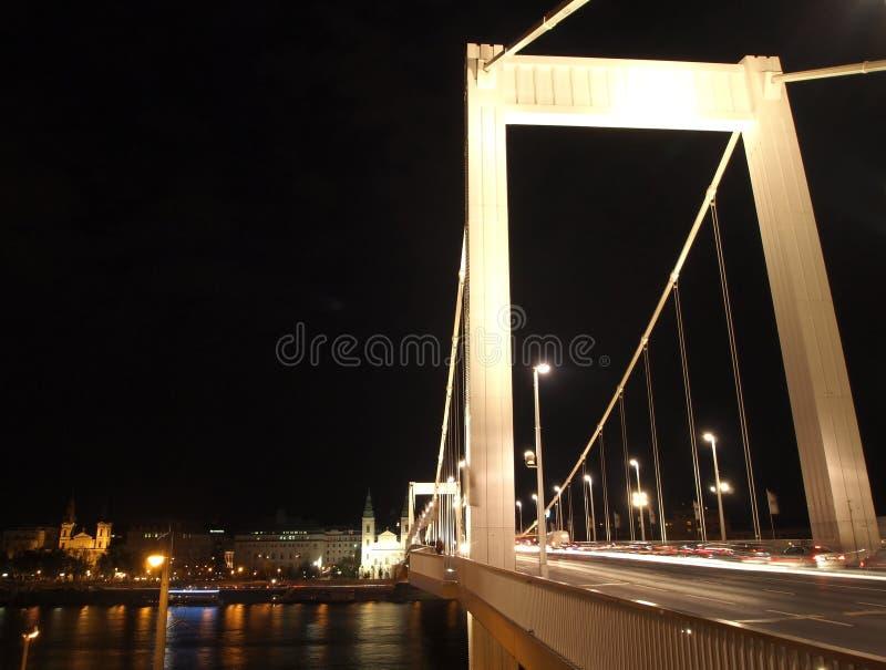 Elizabeth Bridge royalty-vrije stock afbeeldingen