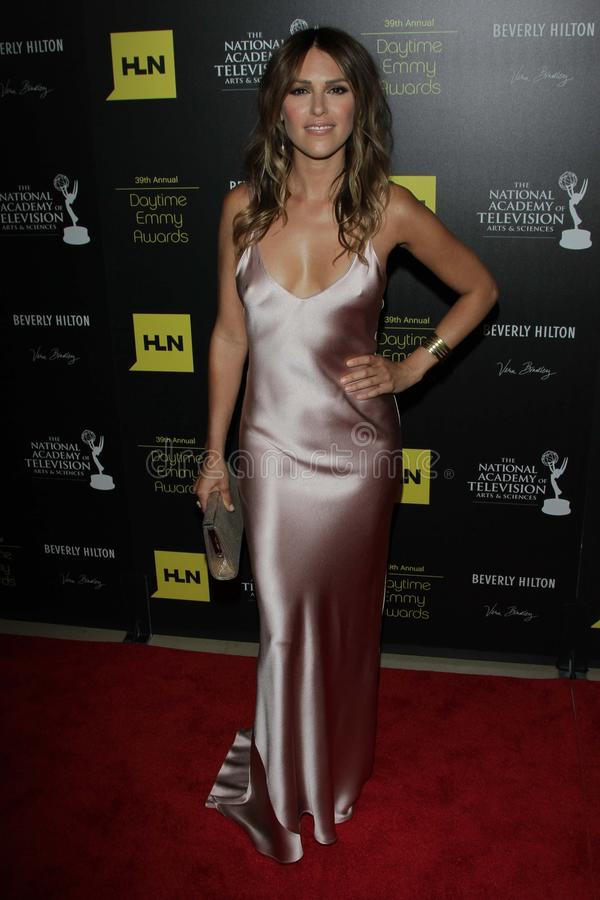 Download Elizabeth Hendrickson At The 39th Annual Daytime Emmy Awards, Beverly Hilton, Beverly Hills, CA 06-23-12 Editorial Stock Photo - Image: 25585358