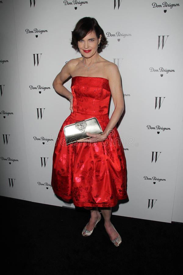 Download Elizabeth McGovern At The W Magazine Best Performances Issue Golden Globes Party, Chateau Marmont, West Hollywood, CA 01-13-12 Editorial Stock Image - Image: 23084889
