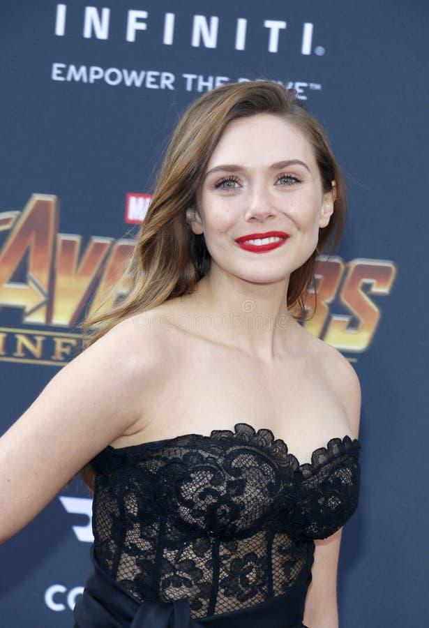 Elizabeth Olsen royalty-vrije stock foto's