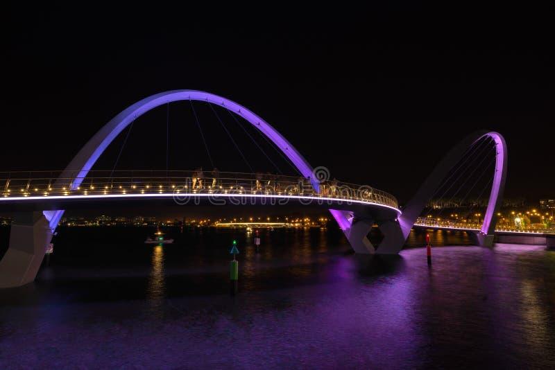Elizabeth Quay à Perth photo libre de droits