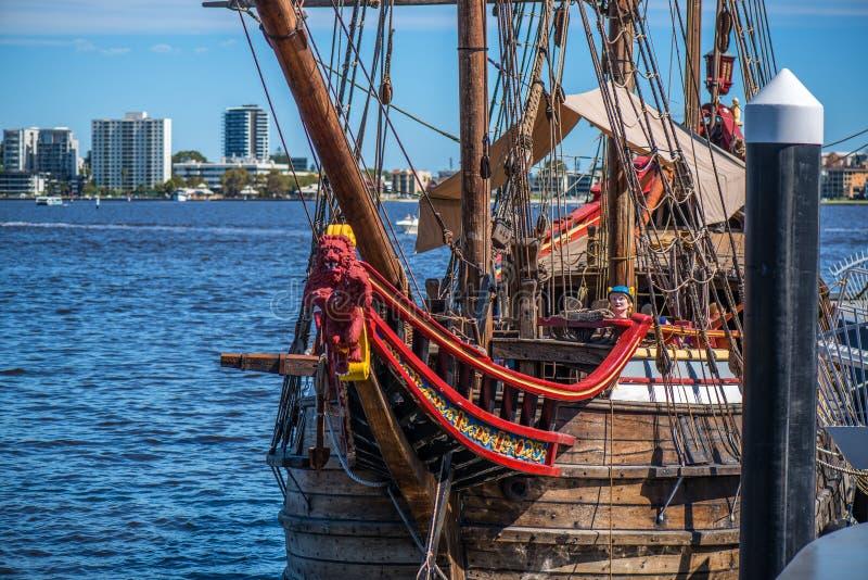 Elizabeth Quay w Perth Australia fotografia royalty free