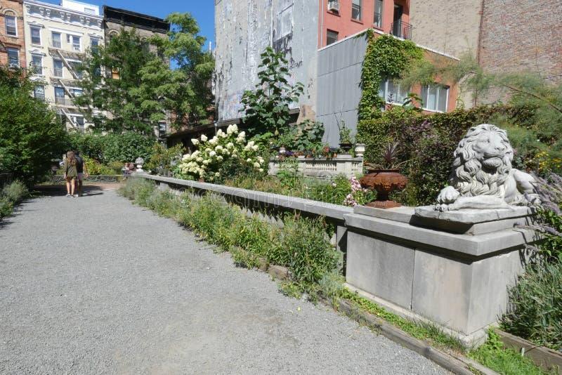 New York City Public Garden royalty free stock photos