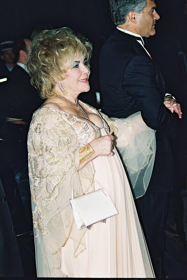 Elizabeth Taylor royalty-vrije stock fotografie