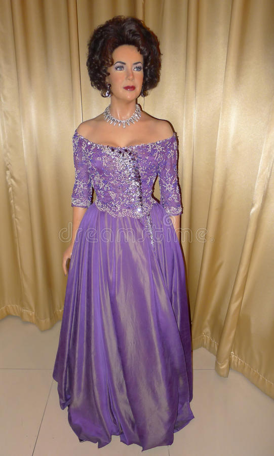 Elizabeth Taylor stock foto