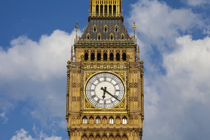 Elizabeth toren in Londen royalty-vrije stock foto