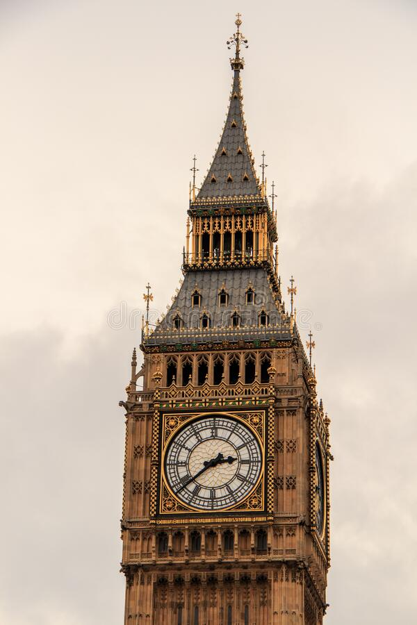 Elizabeth tower royalty free stock image