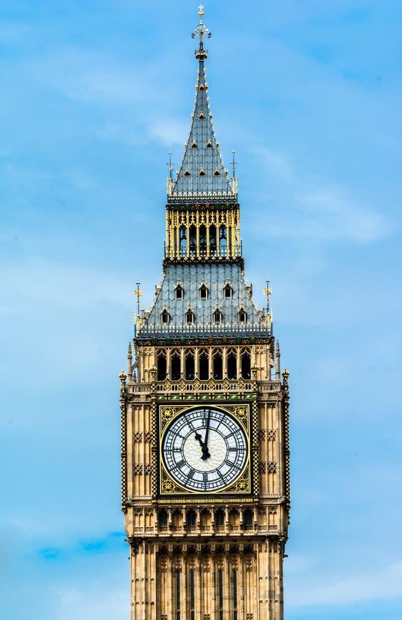 Elizabeth Tower London arkivfoton