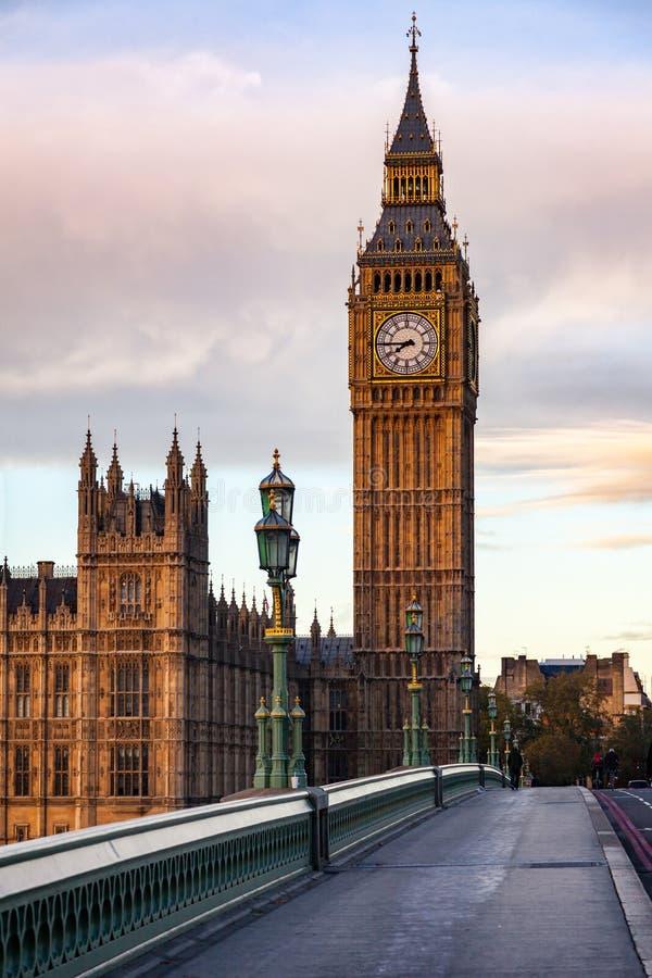 Elizabeth Tower ou grand Ben Palace de Westminster Londres R-U photos libres de droits