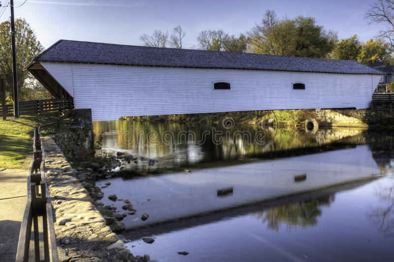 Elizabethton Covered Bridge in Tennessee royalty free stock photos
