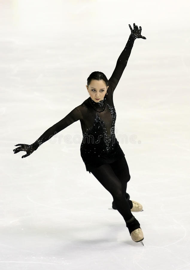 Elizaveta TUKTAMYSHEVA (RUS) image stock