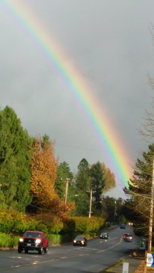 Elke kleur van de regenboog stock afbeeldingen