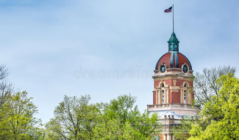 Elkhart County domstolsbyggnad arkivbilder