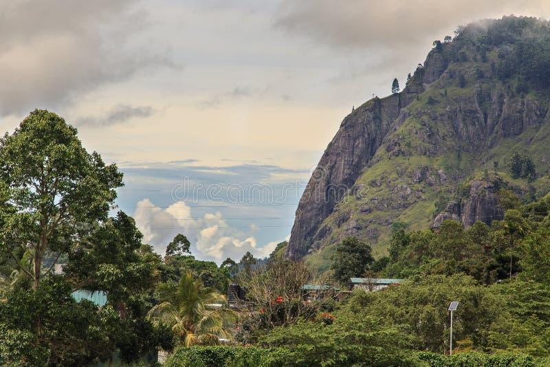 Ella Rock in Ella, Sri Lanka royalty free stock photography