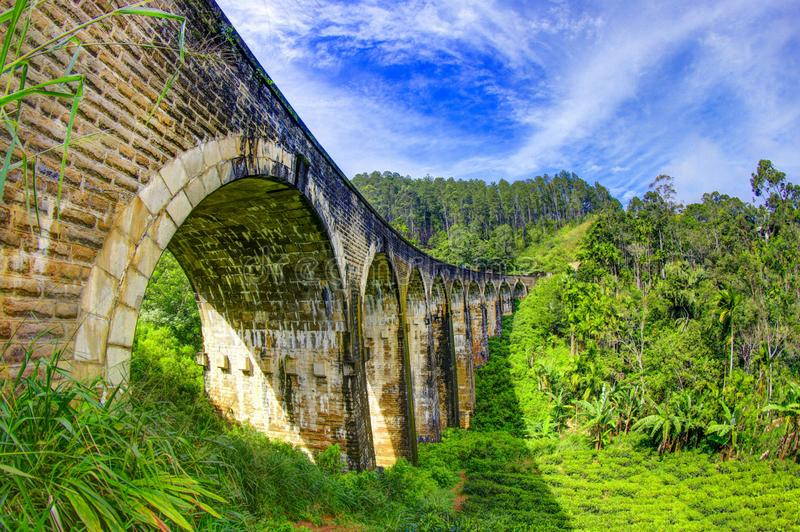 Ella Sri Lanka. Ella is a small town in the Badulla District of Uva Province, Sri Lanka governed by an Urban Council. It is approximately 200 kilometres east of stock image