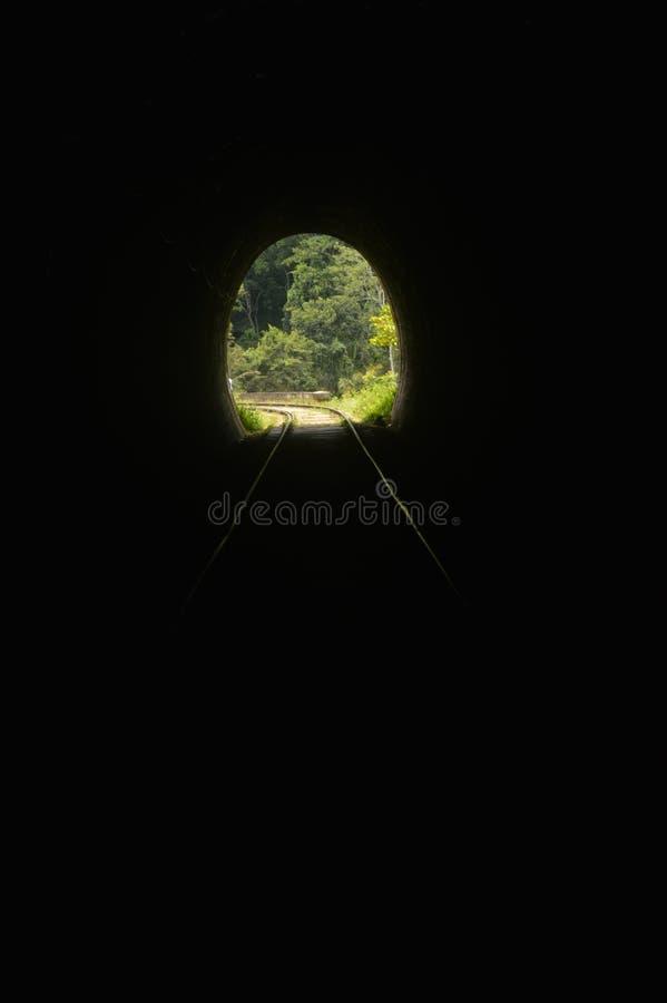 Ella Train Tunnel stock afbeeldingen