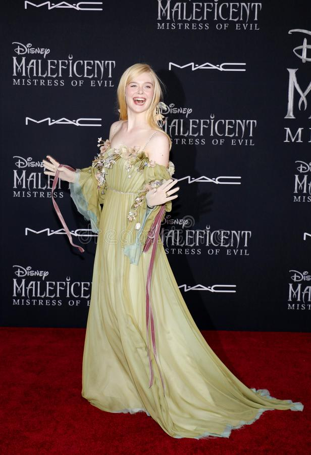 Elle Fanning stock photography