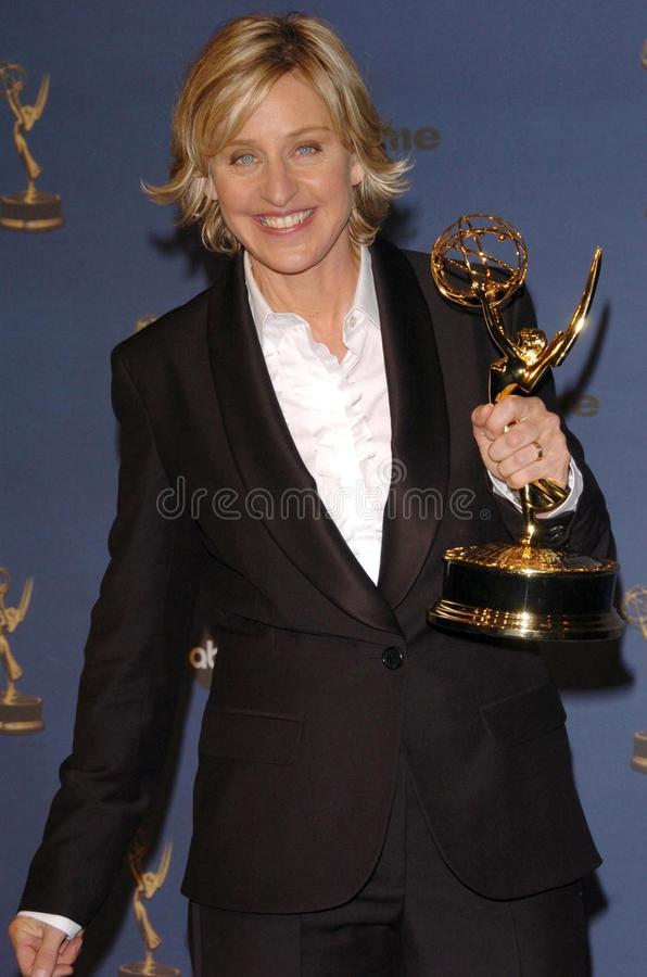Ellen De Generes royalty free stock photo