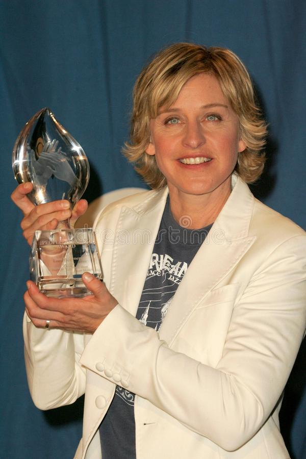 Ellen De Generes royaltyfri bild