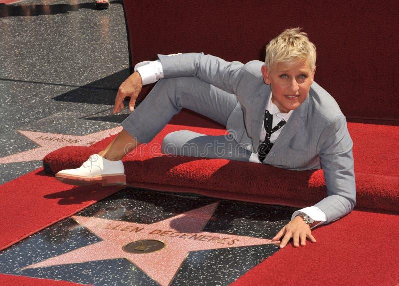 Ellen Degeneres images libres de droits