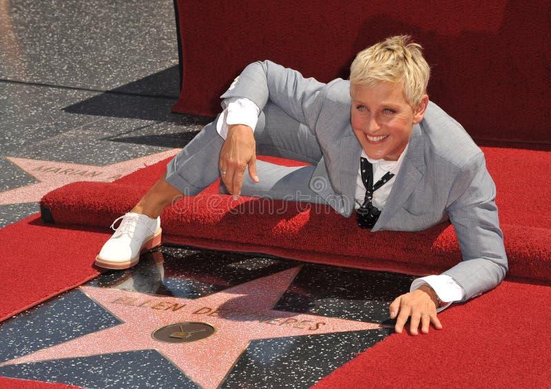 Ellen Degeneres photos libres de droits