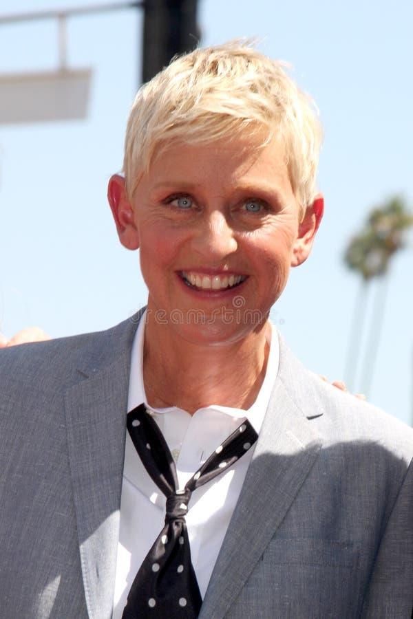 Ellen Degeneres lizenzfreies stockfoto