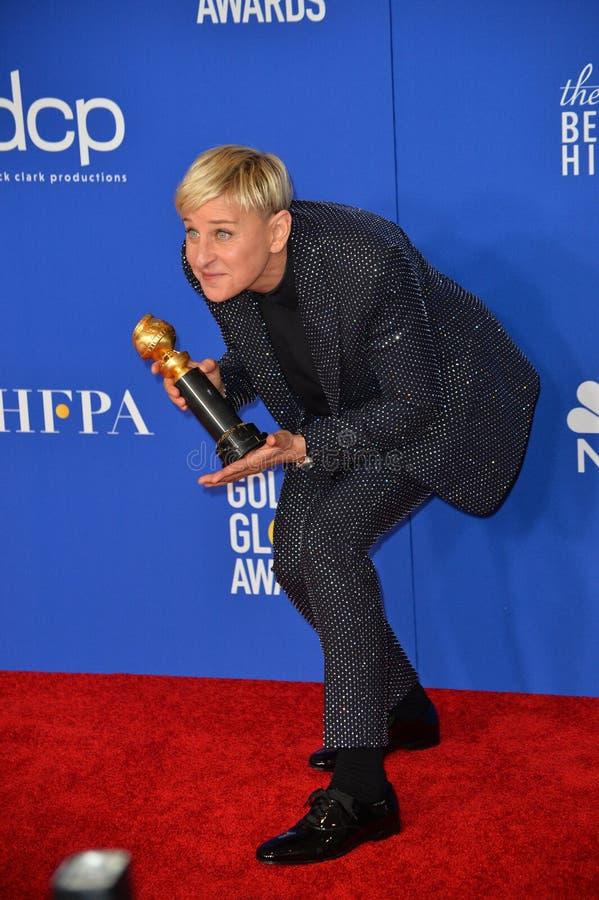 Ellen DeGeneres stock photo
