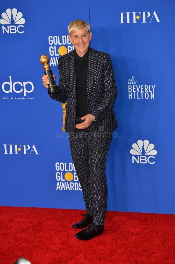 Ellen DeGeneres royalty free stock photos