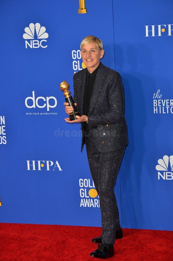 Ellen DeGeneres stock photos