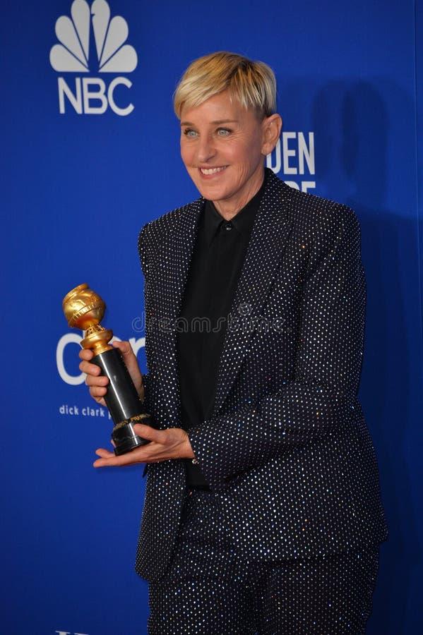 Ellen DeGeneres stock images