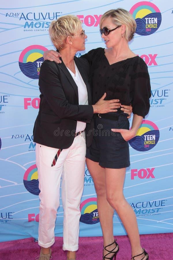 Download Ellen Degeneres,Portia De Rossi Editorial Photo - Image of 07, amphitheatre: 35517356