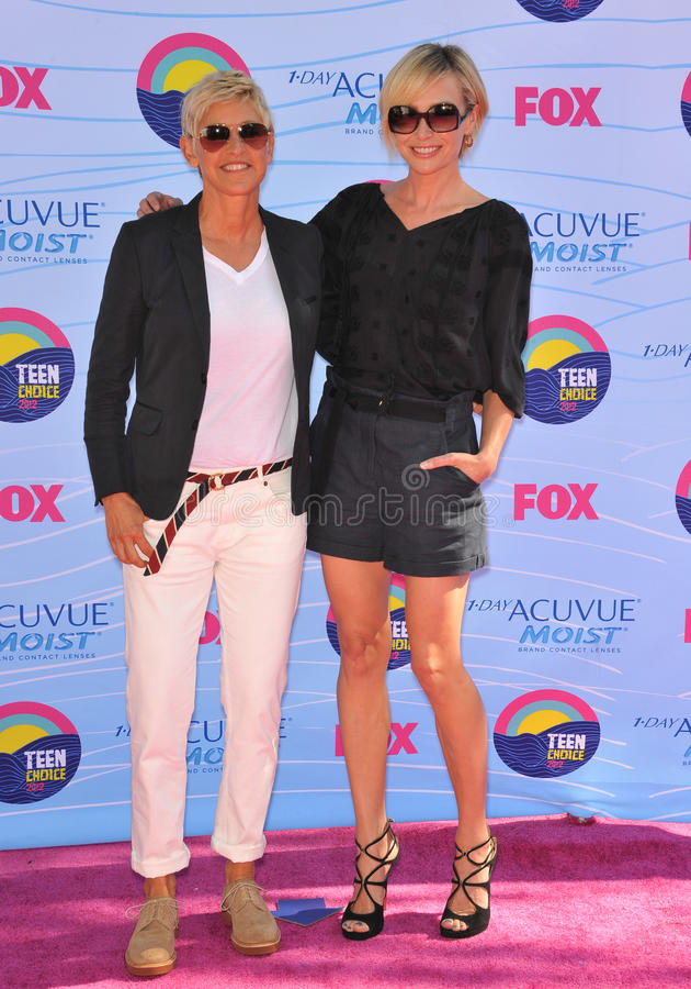Download Ellen Degeneres,Portia De Rossi Editorial Photo - Image: 34675571