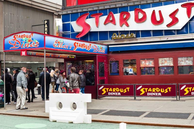 Ellens Times Square för Stardust matställe arkivbilder