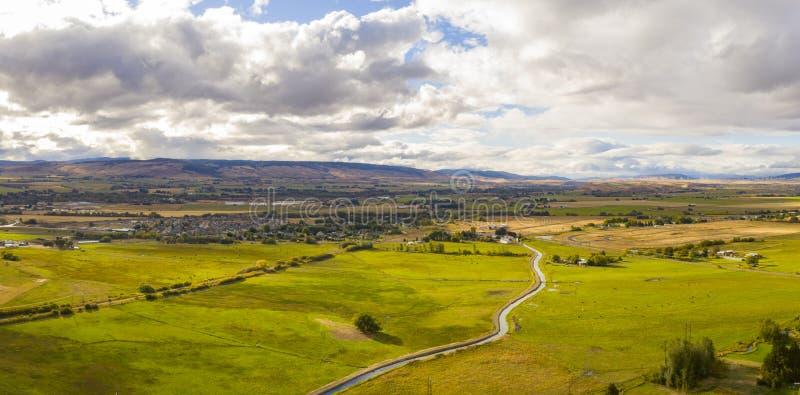 Ellensburg Washington Yakima River Panorama image libre de droits