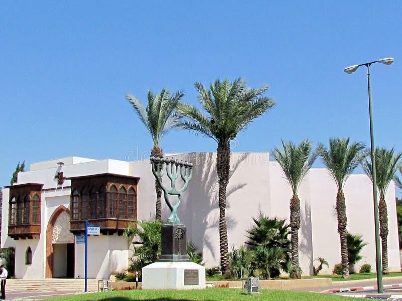 Eller Yehuda Babylonian Jewry Heritage Center 2011 fotografering för bildbyråer