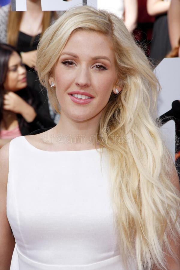 Ellie Goulding royalty-vrije stock foto