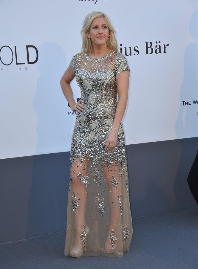 Ellie Goulding royalty-vrije stock foto