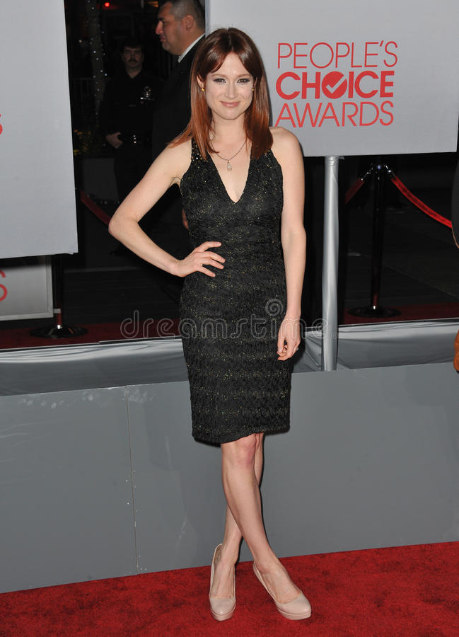 Ellie Kemper photo libre de droits