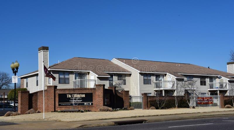 Ellington Apartments Homes em Kirby, Memphis, TN fotografia de stock royalty free