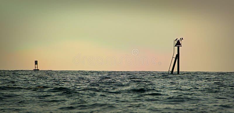 Elliot bay doku schronów marina Seattle Washington fotografia stock