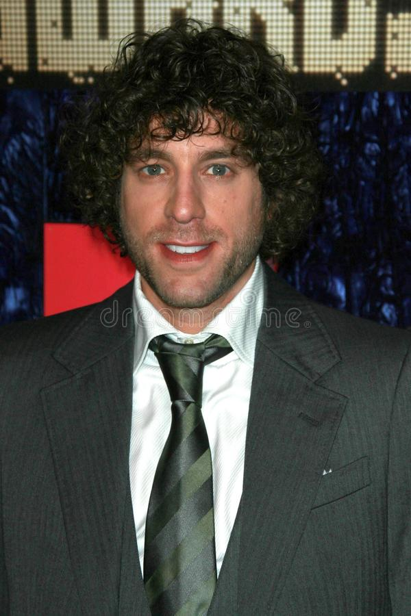 Elliot Yamin arriving at the 2007 MTV Video Music Awards. The Palms Hotel And Casino, Las Vegas, NV. 09-09-07 stock photo